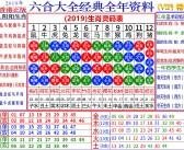 2019生肖灵码表-VIP精华版